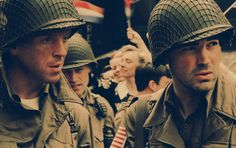 Pin de Michelle Reynolds-Laferney em Band of Brothers Winters Band Of Brothers, Lewis Nixon, Tv Band, We Happy Few, Brothers Movie, Damian Lewis, Film Stills, Great Bands, Armed Forces