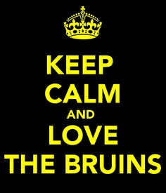 KEEP CALM AND Love The Bruins . Another original poster design created with the Keep Calm-o-matic. Buy this design or create your own original Keep Calm design now. Boston Bruins Hockey, Ucla Bruins, Minions, Keep Calm And Love, My Love, Dont Poke The Bear, Rad Tech, Boston Sports, Boston Strong