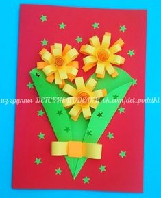 Paper Quilling for Children Easy Arts And Crafts, Crafts To Do, Crafts For Kids, Paper Crafts, Quilling Designs, Fun Activities For Kids, 8th Of March, Paper Quilling, Kids Cards