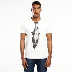 Herring t-shirt. T-shirt form: CLASSIC Sammlungen: Underwater T-Shirt entworfen und hergestellt in Polen. 100% Premium-Baumwolle T-Shirt des polnischen Künstlers Ryszard Izydorczak...