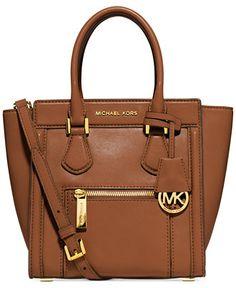 MICHAEL Michael Kors Colette Zip Medium Messenger - Michael Kors Handbags - Handbags & Accessories - Macy's