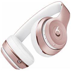 Beats Wireless Headphones in Rose Gold - Beats by Dre Beats By Dre, Bluetooth Headphones, In Ear Headphones, Workout Headphones, Headphones Online, White Headphones, Sports Headphones, Accessories