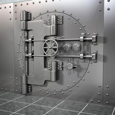 realistic bank vault 3d 3ds - Bank Vault... by Marketing Arts Group