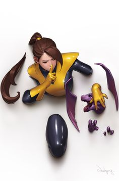Kitty Pryde Art by JeeHyung lee Marvel 616, Marvel Comics Art, Bd Comics, Comics Girls, Marvel Heroes, Comic Art Girls, Spiderman Marvel, Captain Marvel, Comic Book Characters