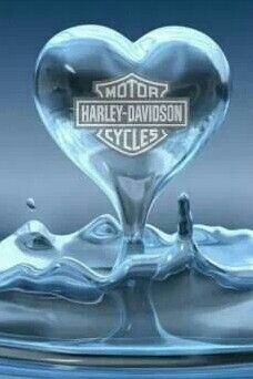 Harley Water Heart.  Repinned by An Angel's Touch, LLC, d/b/a WCF Commercial Green Cleaning Co., Denver's Property Cleaning Specialists!  http://angelsgreencleaning.net