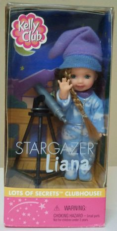 I even still have the telescope to this doll.