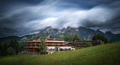 Holzhotel Forsthofalm - Wellness Naturhotel in den Bergen von Leogang, Österreich