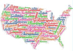 Is your last name Garcia, Rodriguez, or Martinez? Does it make the Top 10 list and see what celebrities share your last name! Fun Facts About America, Popular Last Names, Last Name Meaning, Do You Know What, Funny Stories, Potpourri, Parenting Advice, Parents, Celebrities