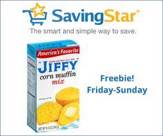 HURRY! Freebie – Jiffy Corn Muffin Mix!   Bargain Hound Daily Deals