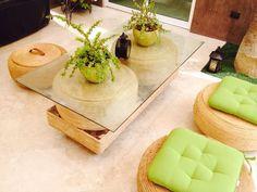 Sala para interior y exterior elaborada con llantas en desuso! Una manera creativa de contribuir al medio ambiente.. Tire Furniture, Home Decor Furniture, Diy Home Decor, Tyres Recycle, Diy Recycle, Tire Ottoman, Home Crafts, Diy And Crafts, Tire Craft
