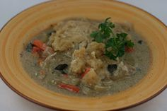 A Year of Slow Cooking: CrockPot Chicken and Dumplings Soup Recipe without using cream of soup.