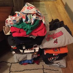 Good day of shopping! 83 new shirts ready to be Upcycled and available for sale! Keep checking back to see our new listings!