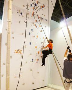 Parede de escalada alpinismo para eventos, feiras, convenções, sipat e confraternizações.