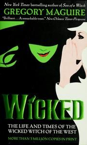 Cover of: Wicked by Gregory Maguire