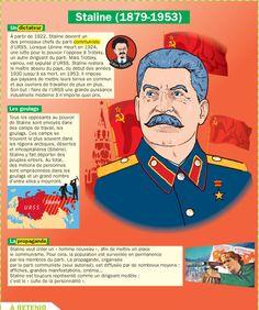 Fiche exposés : Staline