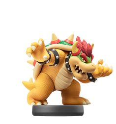 Check out the second wave Amiibo figures from Nintendo (Bowser Figure Shown)