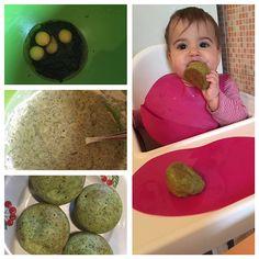 Briose-cu-spanac-si-oua-de-prepelita Baby Food Recipes, Eggs, Breakfast, Recipes For Baby Food, Morning Coffee, Egg, Egg As Food