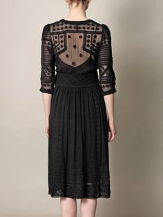 Black Lace Dress | Isabel Marant
