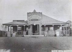 The Bulawayo hotel where Jameson declared the place a town - looks like Wyatt Earp territory. Zimbabwe Africa, Wyatt Earp, Amazing Places, Colonial, South Africa, The Good Place, Taj Mahal, Safari, Birth