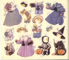 bushy tail paper dolls | This was published by B. Shackman & Co., Inc. in 1992 and is #9676
