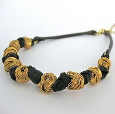 leather necklace - Google Search