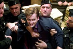 As Barty Crouch Jr. in Harry Potter and the Goblet of Fire