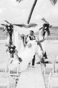 Beach Wedding! My Fiancé and I want a destination wedding! #aioutlet