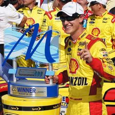 Congrats to Joey Logano - winner of the 2013 #PureMichigan400 #NASCAR race! Click through to read more about the race.