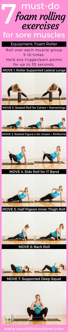 7 Must-Do Foam Rolling Exercises with Vital Proteins {Active Recovery + Supplements for Sore Muscles}