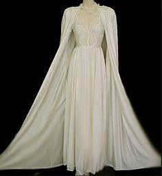 fa570c5589 Peignoir set by Olga in Moondust Bridal Lingerie