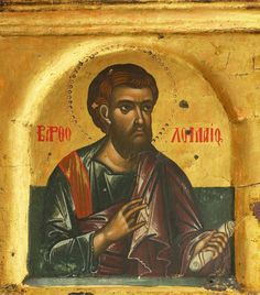 Saint Bartholomew the Apostle - exhibited at the Temple Gallery, specialists in Russian icons Roman Church, Russian Icons, Religious Paintings, Christian Art, Christian Crosses, Byzantine Icons, Orthodox Christianity, Orthodox Icons, Catholic