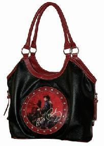 ELVIS PRESLEY BAG AND MATCHING WALLET - FREE SHIPPING
