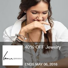 40% OFF Jewelry. No Code Required. (5/2 @ 3am PDT - 5/6 @ 3am PDT) Brought to you by http://www.imin.com and http://www.imin.com/store-coupons/lane-bryant/