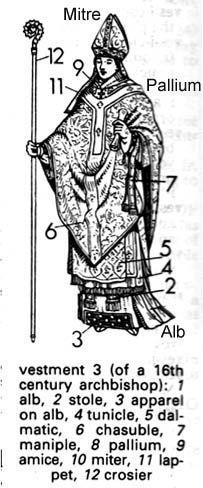 Archbishop's Vestments, 16th century