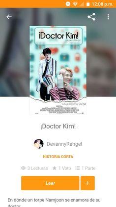 No tuve mucho tiempo para leer esta vez y elegí un fic corto, y este me pareció muy lindo! Es divertido y adorable -3- Yoonmin, Namjoon, Romance, Reading, Female Doctor, Vows, Cute, Hilarious, Romance Film