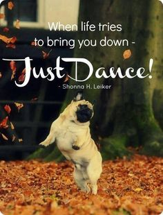 When life tries to bring you down – Just Dance!… More