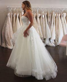 Wedding Dress Shopping at Malindy Elene in Tampa, FL (Anne Barge Blue Willow 'Anya') Wedding Dress Shopping, Wedding Dresses, Anne Barge, Fashion, Bride Dresses, Moda, Bridal Gowns, Fashion Styles