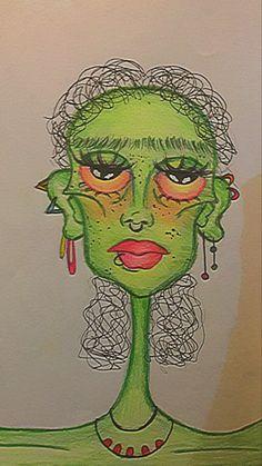 Indie Drawings, Psychedelic Drawings, Art Drawings Sketches Simple, Cool Drawings, Arte Indie, Indie Art, Art Journal Inspiration, Art Inspo, Arte Grunge