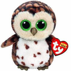 Add Sammy, the plush brown owl, to your Ty Beanie Boo collection today! Sammy Ty Beanie Boo – Brown Owl is the perfect addition to your Ty Beanie Boo plush collection! Ty Animals, Plush Animals, Owl Stuffed Animal, Ty Beanie Boos Collection, Ty Peluche, Ty Boos, Rare Beanie Babies, Rare Beanie Boos, Doll Toys