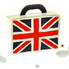 Caja valija para dulces Inglaterra (x10)