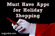 must have apps for holiday shopping