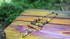 Into the Sun  Handmade Tribal Necklace with by artintheredwoods, $50.00