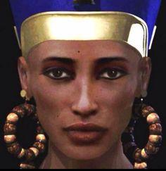 Facial reconstruction of Queen Nefertiti