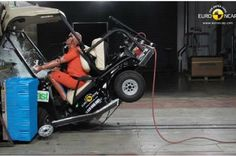 Recent crash tests conducted in Europe has brought golf carts into the spotlight after a Club Car Villager LSV performed poorly