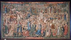 The Triumph of Chastity over Love  Object: Tapestry  Place of origin: Brussels, Belgium (made)  Date: ca. 1507-1510 (made)  Artist/Maker: Unknown (production)