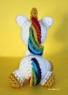 Repeat Crafter Me: Crochet Unicorn Amigurumi
