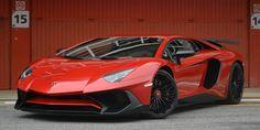 New Lamborghini Aventador SV Roadster-Wallpaper