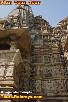 Tourist Attraction India: Khajuraho Temple | temple for lover | temple of romance