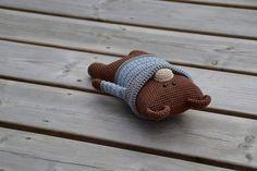 Toby the Bear by LittleHappyCrochet on Etsy