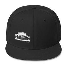 1955 Chevy BelAir - Modern Rodder - Snapback Hat